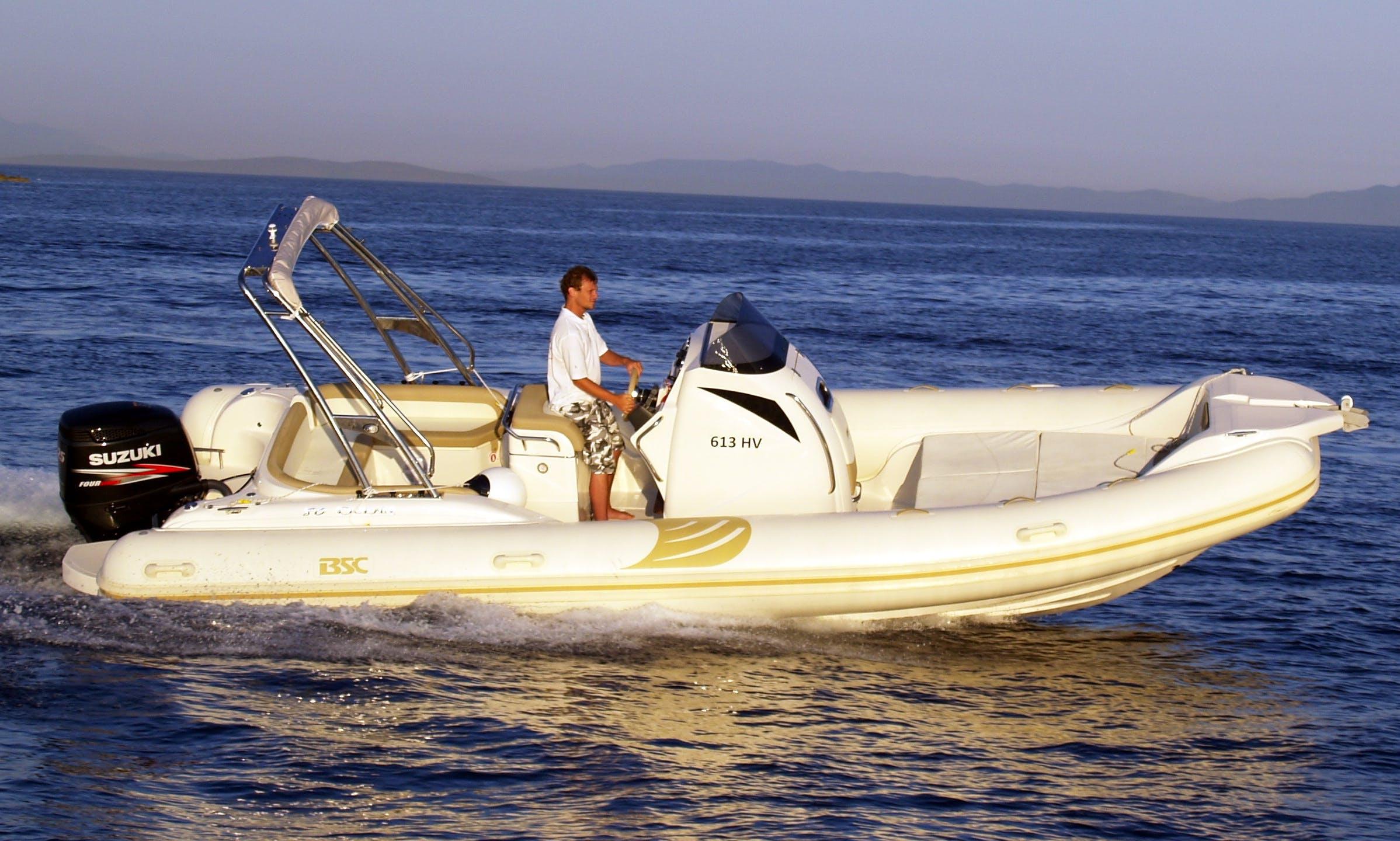 BSC 80 Ocean RIB Charter in Santanyí