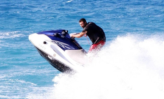 Yamaha Waverunner Jet Bike Rental In Rodos