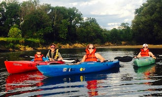 Single Kayak Rental & Guided Tours in Valley View, Ohio