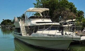55' Motor Yacht Trips in Madeira Beach, Florida