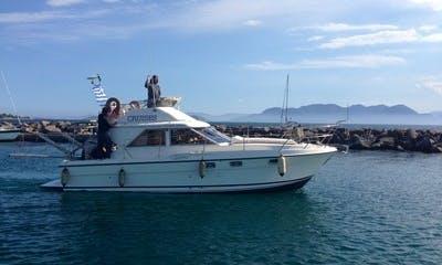 "32' Motor Yacht ""FRATZESKA"" Trips in Nisi, Greece"