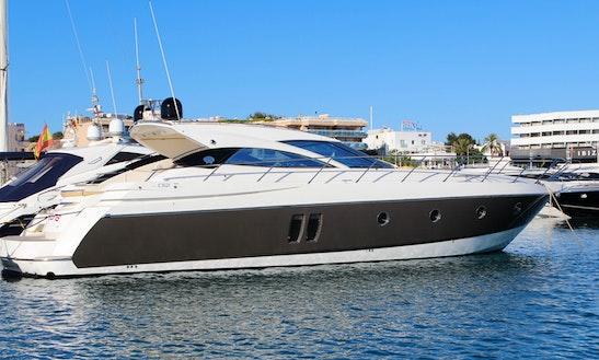 Sessa C52 Motor Yacht Charter In Eivissa