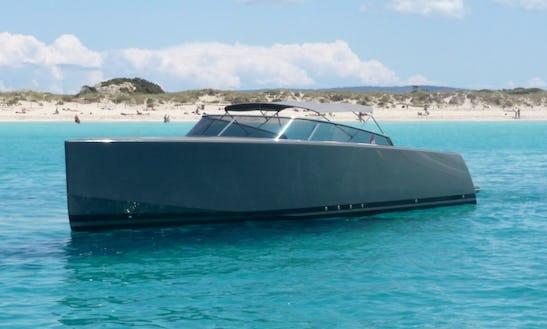 Van Dutch 40 Motor Yacht Charter In Eivissa