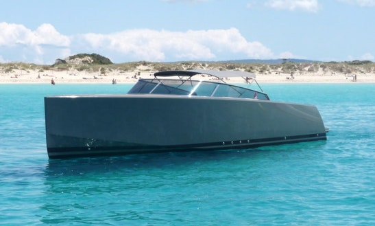 Van Dutch 40 Motor Yacht Charter In Eivissa