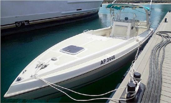 Dubai Fishing Charter On 32ft Al Dhean Fishing Machine