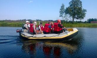 Rafting  in Kotka