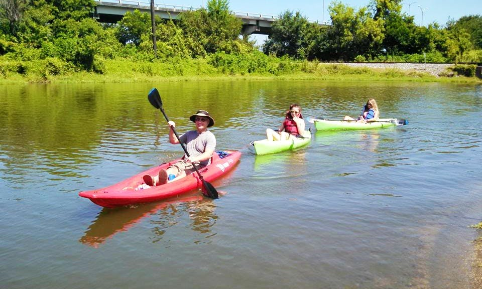 Rent Single Kayaks In New Orleans