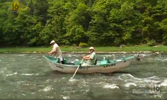 Bass Boat Fishing Trips In Damascus Township, Pennsylvania