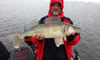 Bass Boat Fishing Trips in Brainerd, Minnesota