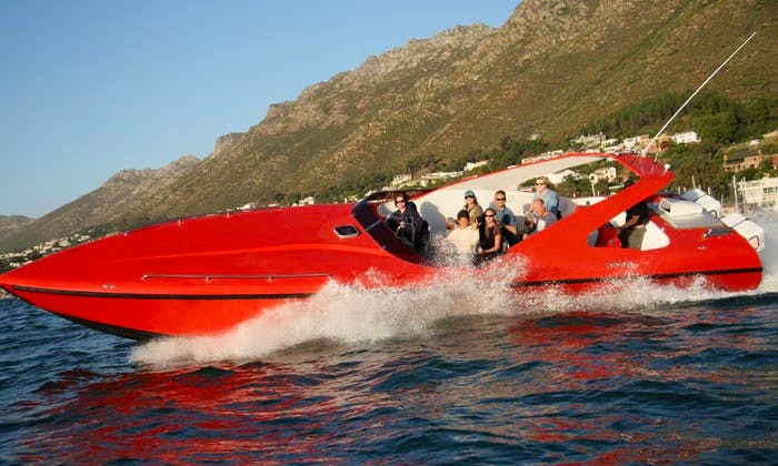 Charter on 40' Bowrider from Cape Town, South Africa