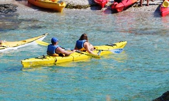Exciting Kayaking Tour In Sauzon, France!