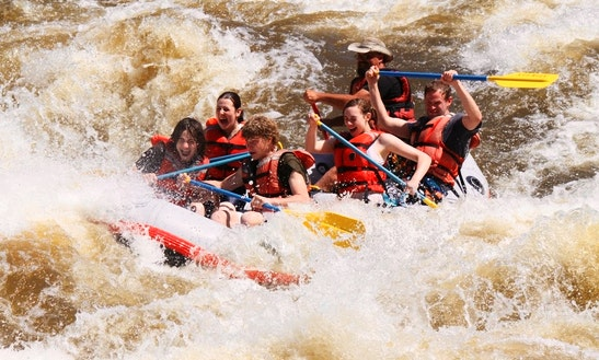 Whitewater Rafting In Taos Box