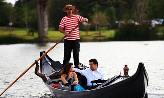 Venetian Gondola Trips In New Orleans, Louisiana