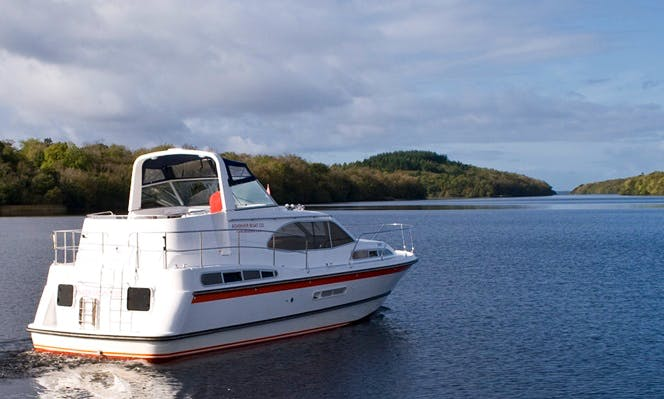 "Hire 38' Motor Cruiser ""Inver Countess"" Yacht In Irvinestown"