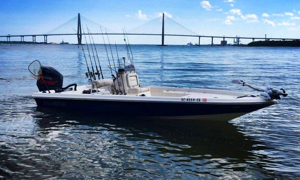 Bass Boat Fishing Trips in Mount Pleasant, South Carolina United States