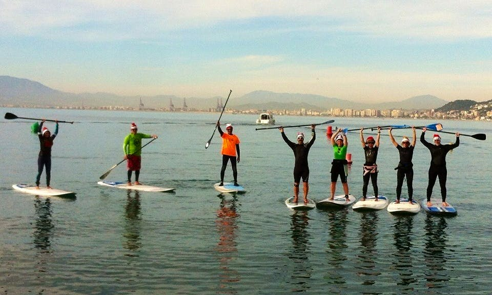 Paddleboard Rental & Courses in Malaga, Spain