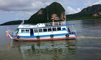 Big Boat for rent in Thailand