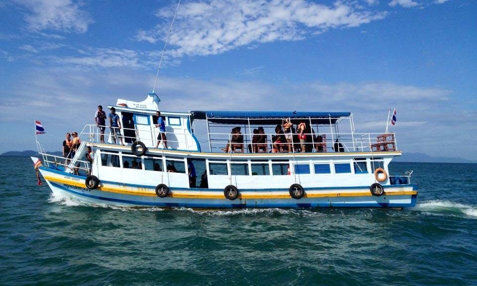 Passenger Boat in Trang