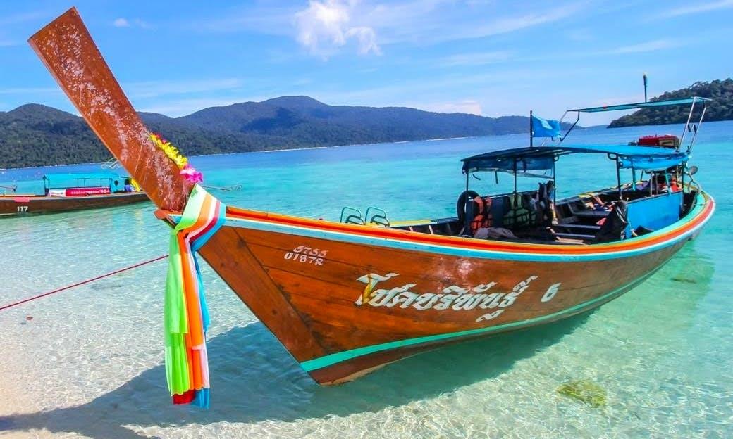 Long Tail Boat in Trang