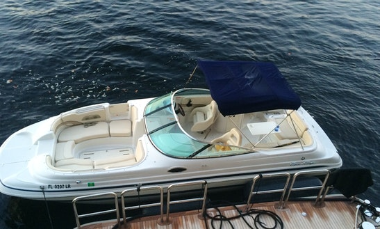 Charter 26' Deck Boat Chris Craft 262 In Dania Beach, Florida