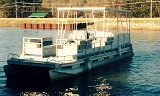 Rent 12 People Pontoon Boat In Ridgeland