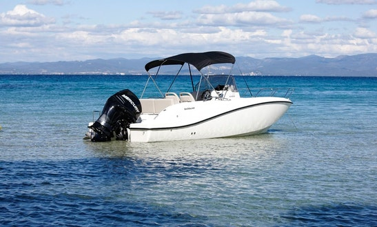 Quicksilver Activ 675 Open Rental In Trogir