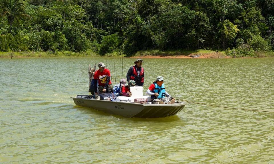 Guided Fishing Tour In Paramaribo