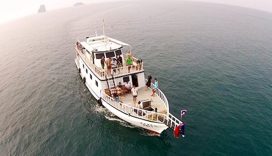 Poseidon Diving Boat In Ao Nang Krabi