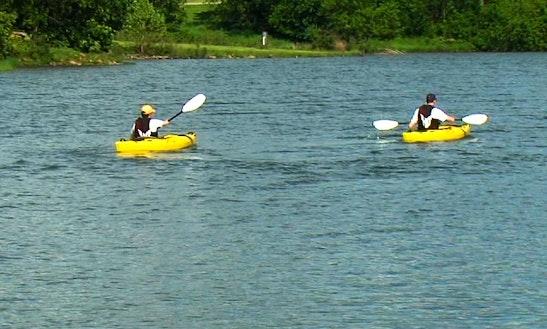 Single Kayak Rental At Pomme De Terre State Park