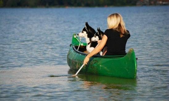 Canoe Rental At Pomme De Terre State Park