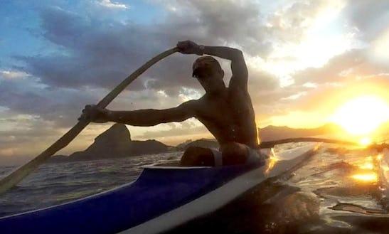 Icarahy Canoa Havaiana Wa'a Kaukahi In Niterói