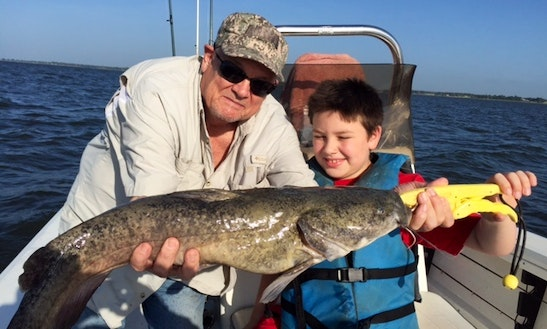 Guided Fishing On Beautiful Lake Richland Chambers In Texas