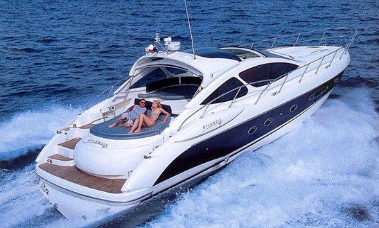 Charter A Stylish 59' Azimut Atlantis In Bvi