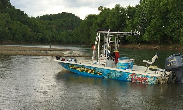 Guided Crappie and Striper Fishing Trips on Lake Oconee
