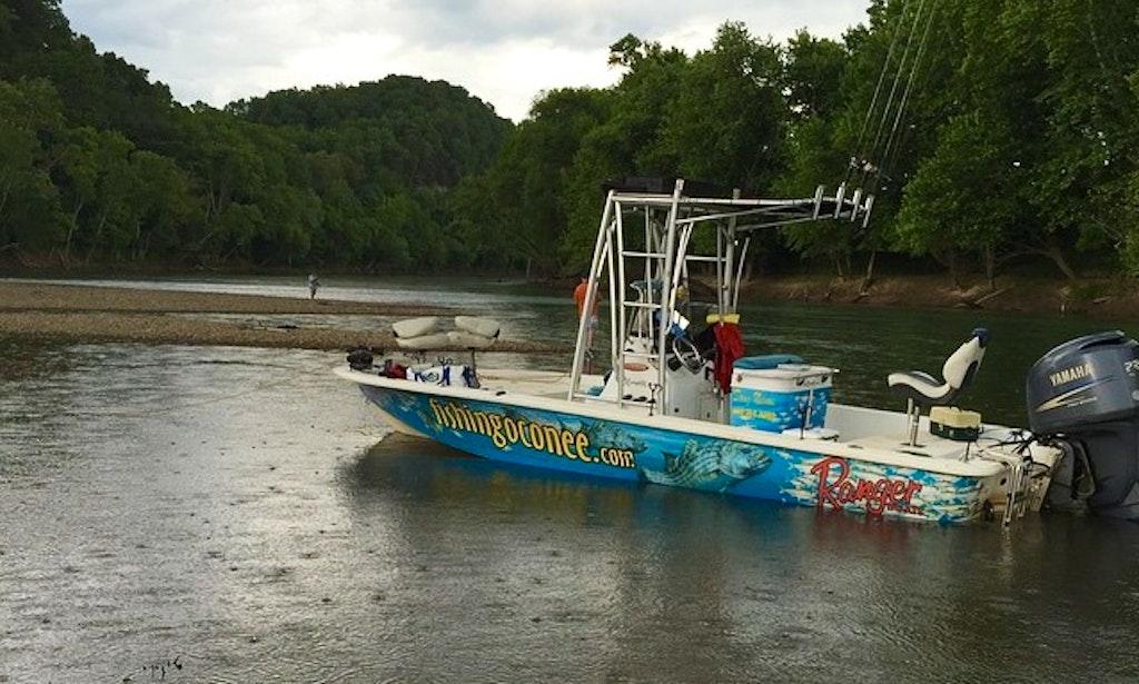 Guided crappie and striper fishing trips on lake oconee for Lake oconee fishing
