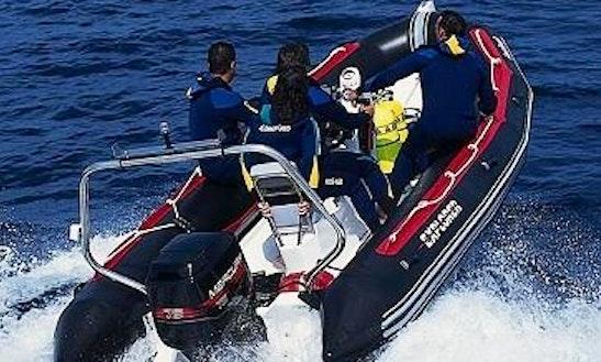 Hire The 18' Bombard Speedboat In Quiberon