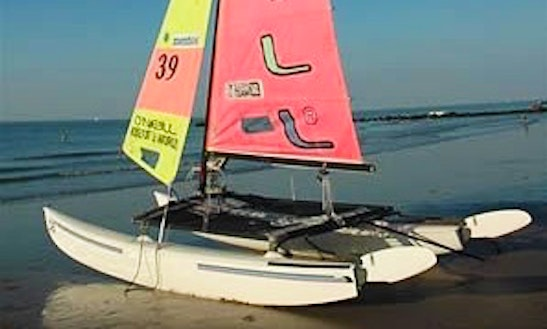 Hire The 16' Hobie Cat In Quiberon