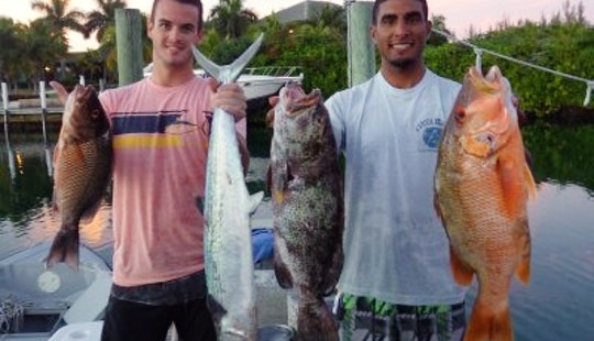 Guided Reef Fishing Trip In Freeport