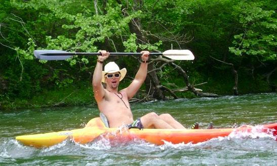 Kayaking On North Fork River