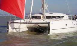 HELIOS 38' Cruising Catamaran Rental & Trips in Larmor-Plage, France