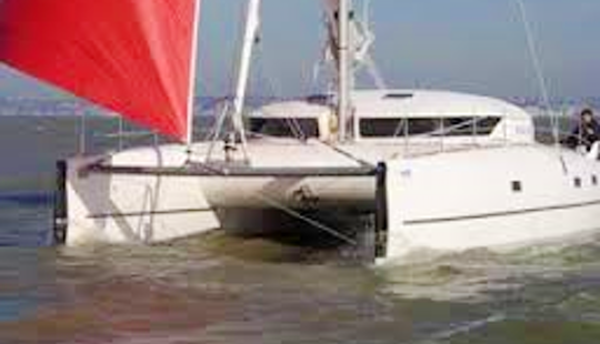 Helios 38' Cruising Catamaran Rental & Trips In Larmor-plage, France