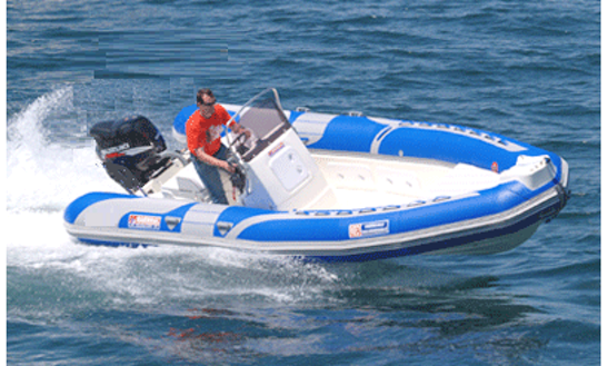 Narwhal 670 Rib Rental In Larmor-plage, France