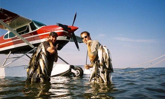 Enjoy Fishing By Seaplane On Barrier Islands In Louisiana