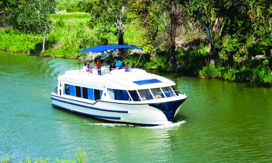 Book Affordable Canal Boat Rental For 2 People In Oberhausen, Germany