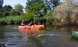 Tandem Kayak Rental & Trips in Neuhaus am Inn, Germany
