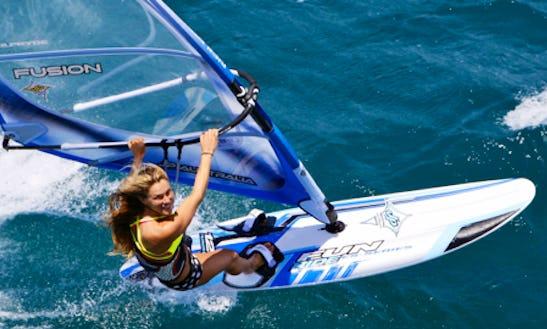 Experience This Amazing Windsurfing Ride In Sant Adria De Besos, Spain