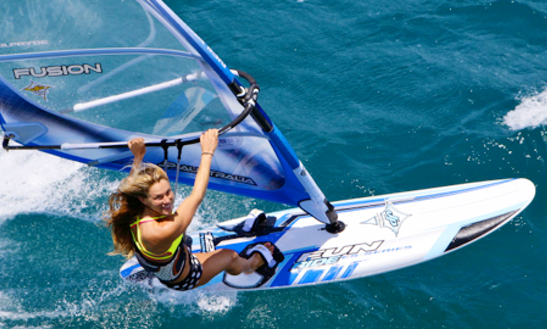 Experience This Amazing Windsurfing Ride In Sant Adria De Besos, Spain