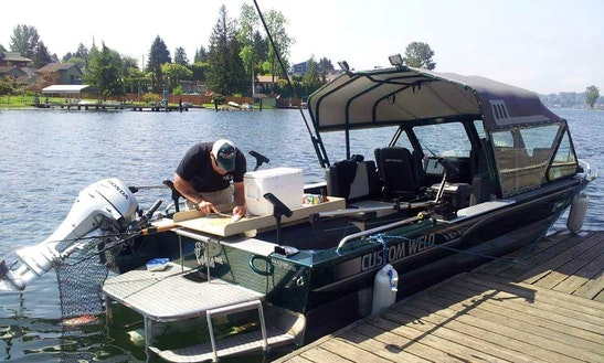 20' Fishing Trip Jet Boat In Snohomish