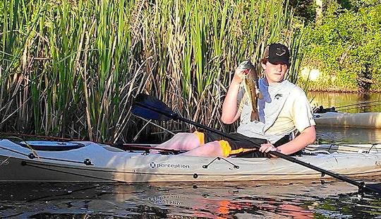 Guided Kayak Fishing Tour In Guntersville, Alabama