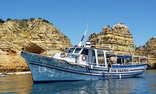 "Passenger Boat ""Via Sagres"" Wildlife Tour in Lagos, Portugal"